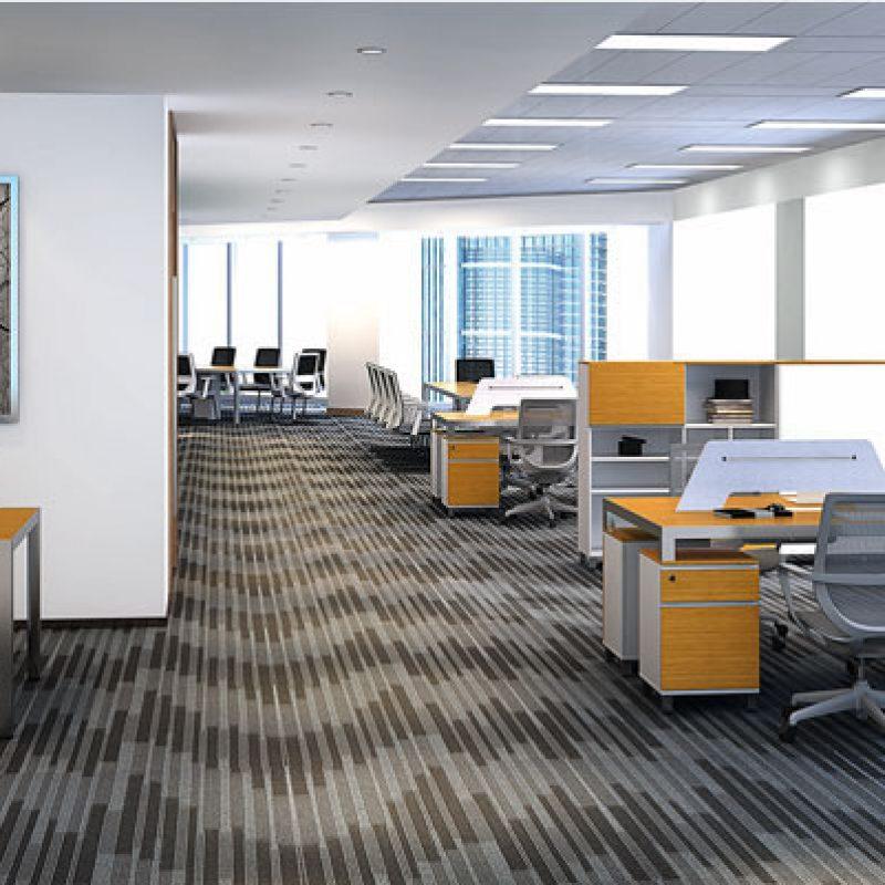 职员办公桌竹木系列-ZH-D1512