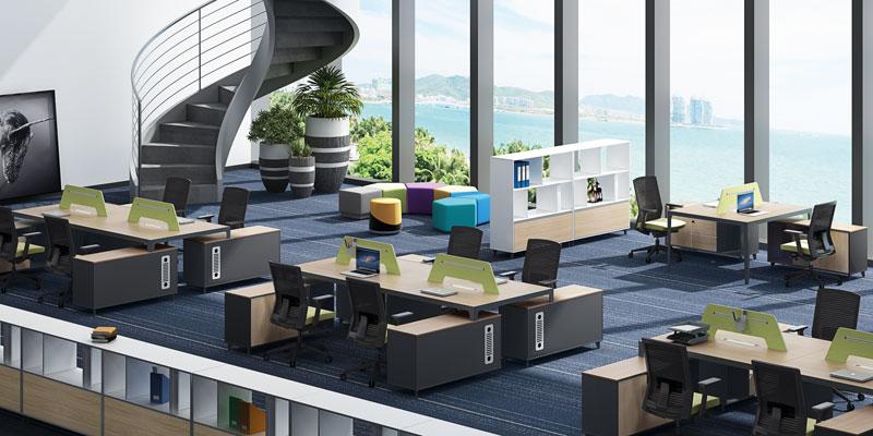 职员办公桌雅韵系列-YY-D0724