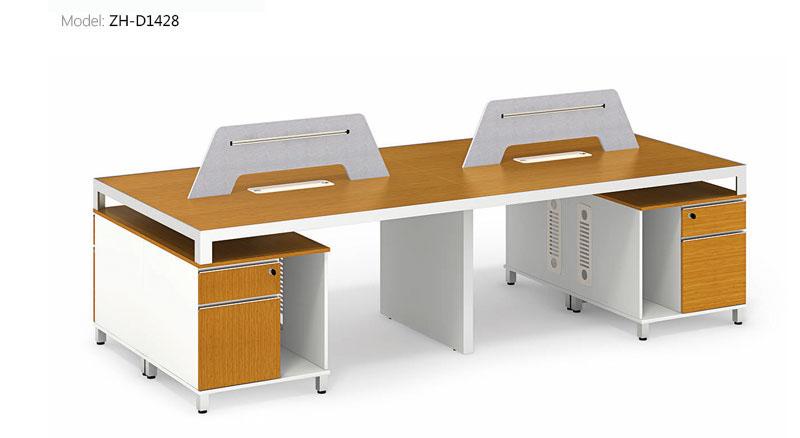 职员办公桌竹木系列-ZH-D1114