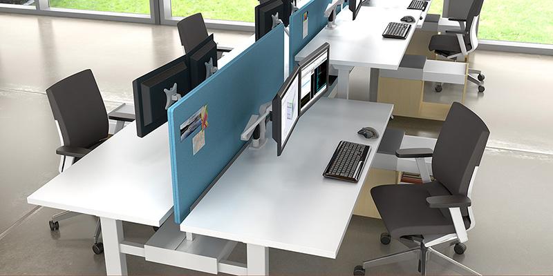 办公桌,职员位